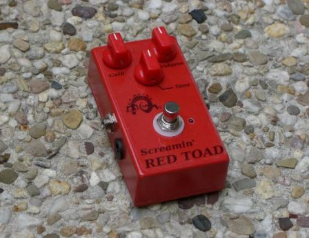 Screamin' Red Toad